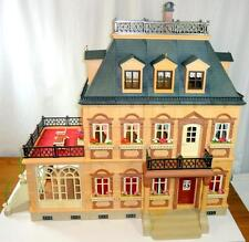 Playmobil #5300 Victorian Mansion Dollhouse Doll House Nearly Complete (99%) EUC