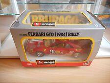 Bburago burago Ferrari GTO Rally (1984) in Red on 1:24 in Box