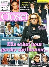 CLOSER N°512 3 AVRIL 2015  LEFEBURE/ PARADIS/ SILA/ CRUISE/ ARTHAUD/ RODRIGUEZ