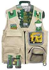 Children's Cargo Vest With Enough Pockets For Field Gears By Backyard Safari .