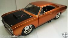 Jada 1:24 Diecast Medel Plymouth Road Runner Dom's Car Fast and Furious #Orange