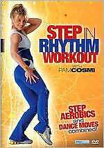 STEP IN RHYTHM AEROBICS (Pam Cosmi) - DVD - Region Free