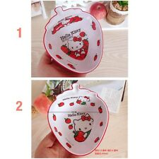 Lovely hello kitty mélamine rice, salade et soupe bowl for kids - 450 ml