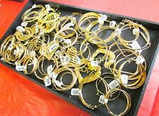 Jewelry Chain Store Liquidation Wholesale Lots Gold Plated Earring 24 Pairs