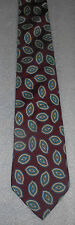 "Surrey Traditional Mens Paisley Print Italian Necktie Silk Designer Tie 54"" Long"