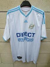Maillot OM MARSEILLE Adidas CHAMPION de FRANCE 2009 2010 n°9 shirt L