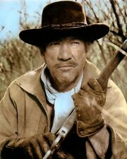 "RICHARD BOONE BIG JAKE 1971 HOLLYWOOD ACTOR 8x10"" HAND COLOR TINTED PHOTO"