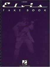 The Elvis Fake Book-ExLibrary