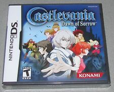 Castlevania: Dawn of Sorrow for Nintendo DS Brand New! Factory Sealed!