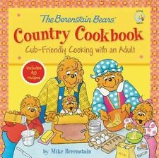 Berenstain Bears Country Cookbook kids learn to cook book