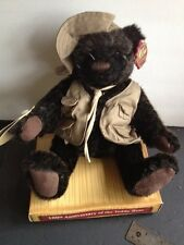 100th Anniversary Special Edition Theodore Roosevelt Teddy Bear By Lee Capozzi