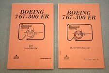 Boeing 767-300 ER OJT Handbook & EICAS Message List Delta Air Lines Tech Ops