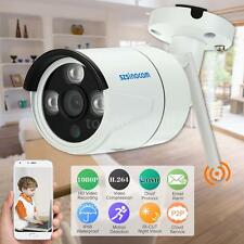 Wireless WiFi 2.0MP HD 1080P CCTV Camera Onvif Outdoor Network IP Camera US F2W8