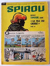 C)SPIROU N°1371 sans le mini récit  / Starter Alpine F.2/ René Bonnet F.2