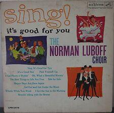 DISCO 33 GIRI  - NORMAN LUBOFF CHOIR - SING!