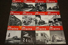 Trains-The Illustrated Magazine About Railroads VOL.9(12 Issue)Nov1948/Oct1949