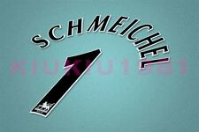 Manchester United Schmeichel #1 PREMIER LEAGUE 97-06 Black Name/Number Set