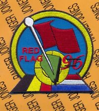 Belgium Netherlands Air Force Red Flag II 1996 flight patch