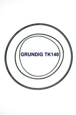 SET BELTS GRUNDIG TK140 REEL TO REEL EXTRA STRONG NEW FACTORY FRESH TK 140