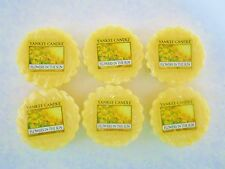 Yankee Candle Tart Wax Melt FLOWERS IN THE SUN Lot of Six (6) Tarts