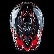 "2016 Troy Lee Designs AIR ""Starbreak Black Red"" Large MX Helmet TLD Team Honda"