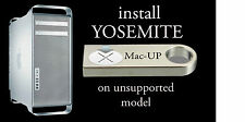 Mac Pro 1.1 YOSEMITE !!-UPGRADE UNSUPPORTED Mac-Intel - Mac-Up Key personalized