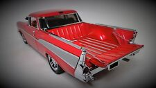 1957 Chevy 1 Pickup Truck Car 12 Vintage Antique 24 Sport Metal 18 Carousel Red