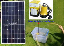 DC 12V 50W Mini Solar Water Pump For Car Washing Boat Fountain Irrigation System