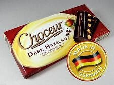 CHOCEUR DARK HAZELNUT CHOCOLATE - One 7.05 oz. Bar - German  LOWEST PRICE EVER