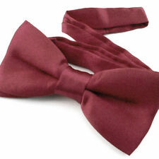 Noeud Papillon Enfant Réglable Bordeaux - Children Bow Tie Adjustable Burgundy