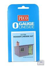 LK-704 O Gauge Lineside Hut Wooden Peco