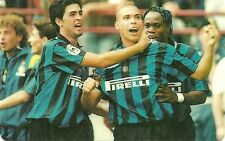 RARE / CARTE TELEPHONIQUE- RONALDO : INTER MILAN ITALY FOOTBALL BRESIL PHONECARD