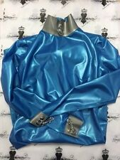 R987 RUBBER Latex Bondage DRESS Fetish Uniform Shown 8 Westward Bound