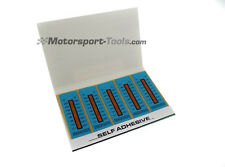 Racetech Motorsport Temperature Test Strip Sticker 121-280c Pack of 10