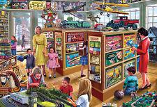 Nouveau! gibsons the toy shop by steve crisp par 250 pièce extra large jigsaw puzzle