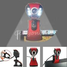 USB 6 LED 50M Pixels visione notturna HD Webcam microfono per PC ICQ MSN Laptop