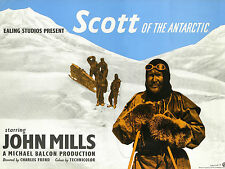 "Scott of Antartica 1948 16"" x 12"" Reproduction Movie Poster Photograph"