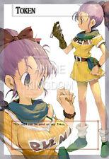 YUGIOH Sexy Anime Orica Token Sexy  dragon ball z Bulma  # 689
