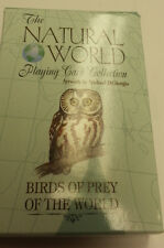 BIRDS OF PREY OF THE WORLD PLAYING CARD DECK
