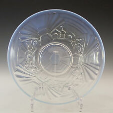 Jobling Art Deco Opaline/Opalescent Glass Flower Bowl