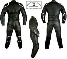 WOMENS BLACK HORIZON STYLE LADIES CE ARMOUR MOTORBIKE / MOTORCYCLE LEATHER SUIT