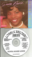 DONNA MARIE LEWIS Think Twice / Want this Love INSTRUMENTAL CD single USA Seller