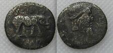 Rare Silver Denarius Coin - Quintus Caecilius Metellus Pius Scipio Nasica