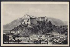 Tolle AK Salzburg Hohensalzburg / Untersberg 1944, Burg, Festung
