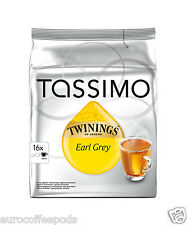 Tassimo Twinings Earl Grey Tea  - 16 T disc / Servings