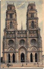 CPA 45 - ORLEANS - Postal- la catedral la iglesia St. Croix
