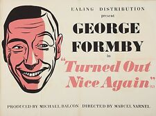 """Turned out nice again GEORGE FORMBY 16"""" x 12"""" Reproduction Movie Poster Photo"""