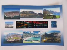 CAPE TOWN - JUMBO FRIDGE MAGNET -  Table Mountain, Robben Island, V & A Waterfro