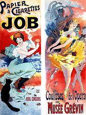 Stampa Poster Pubblicità Entertainment FRANCE Ballet Sigarette JOB Nouveau nofl0982