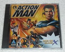 NEW Action Man: Raid on Island X video game for the PC (2000)